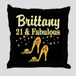 STYLISH 21ST Throw Pillow