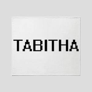 Tabitha Digital Name Throw Blanket