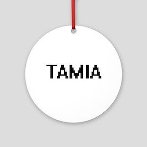 Tamia Digital Name Ornament (Round)