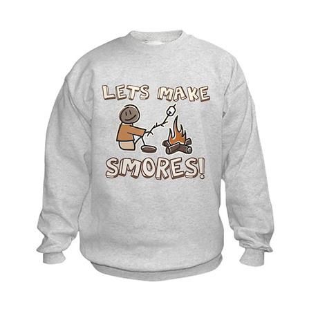 Lets Make SMORES! Kids Sweatshirt