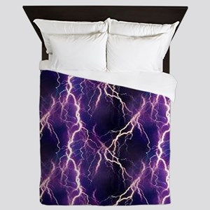 Lightning Pattern Queen Duvet