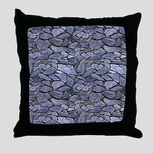 Stone Wall Pattern Throw Pillow