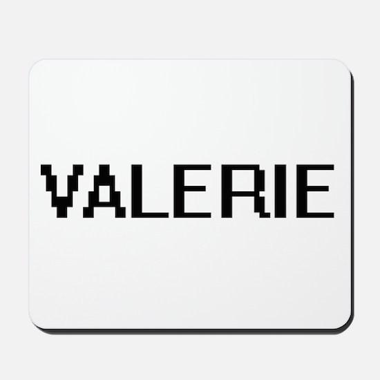 Valerie Digital Name Mousepad