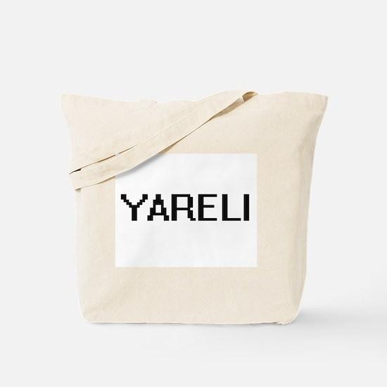 Yareli Digital Name Tote Bag