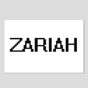 Zariah Digital Name Postcards (Package of 8)
