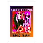 """Large """"Glam Rock - Backstage"""" Poster"""