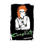 "Mini - ""Conflict"" - Poster"