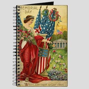 Vintage Memorial Day Journal