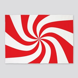 Peppermint Candy 5'x7'area Rug