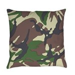 Camouflage Everyday Pillow