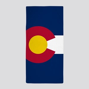 Colorado Flag Beach Towel