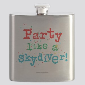 Party like a skydiver! Flask