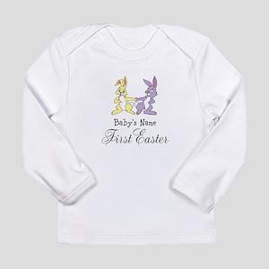 Babys First Easter Long Sleeve T-Shirt