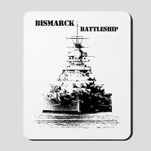 Bismarck Battleship Mousepad
