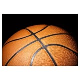 Basketball ball Wrapped Canvas Art