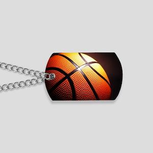 Basketball Ball Dog Tags