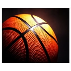 Basketball Ball Canvas Art