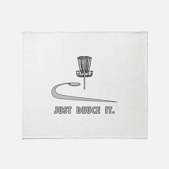 Disc Golf Deuce Throw Blanket