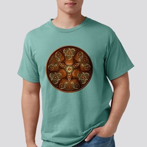 Norse Chieftain's Shield - Copper & T-Shirt