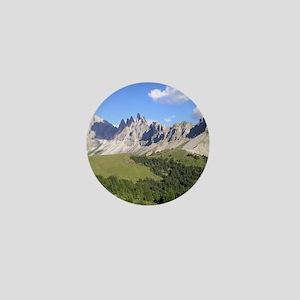 Dolomites Mountains Mini Button