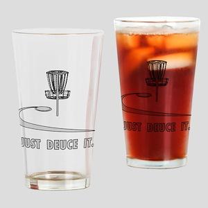 Disc Golf Deuce Drinking Glass
