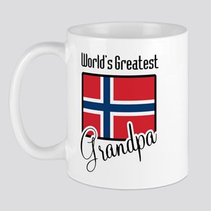 World's Greatest Norwegian Grandpa Mug