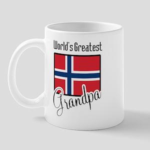 World's Greatest Norwegian Grandpa Mug