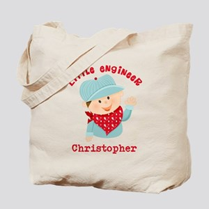 Little Engineer Personalized Tote Bag