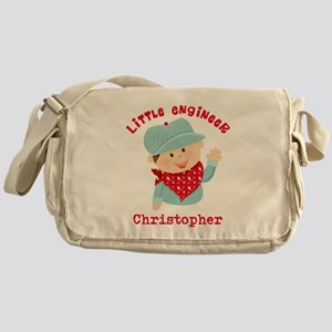 Little Engineer Personalized Messenger Bag