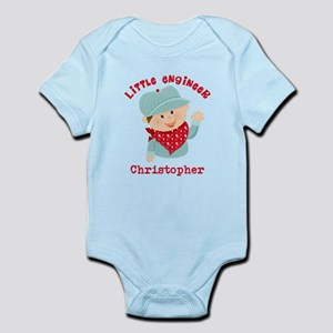 Little Engineer Personalized Infant Bodysuit