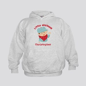 Little Engineer Personalized Kids Hoodie