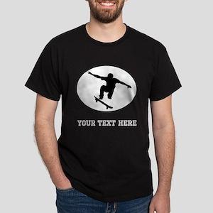 Skateboarder Oval (Custom) T-Shirt