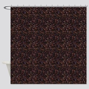 Java Beans Pattern Shower Curtain