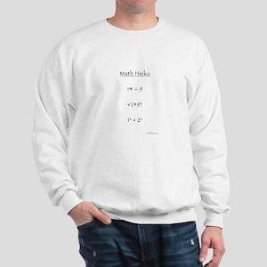 Math Haiku Sweatshirt