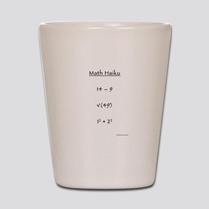 Math Haiku Shot Glass