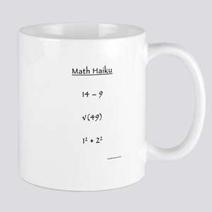 Math Haiku Mugs