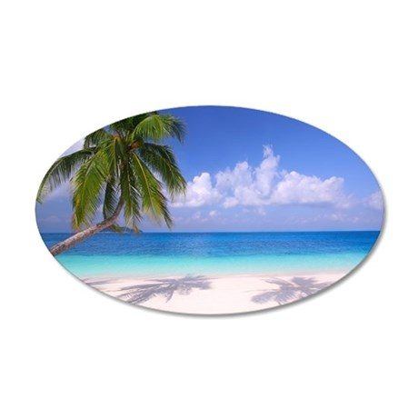 sc 1 st  CafePress & Tropical Beach Wall Decal by WickedDesigns4