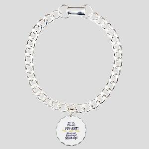 Pivot, Pivot, PIV-AHT! Charm Bracelet, One Charm