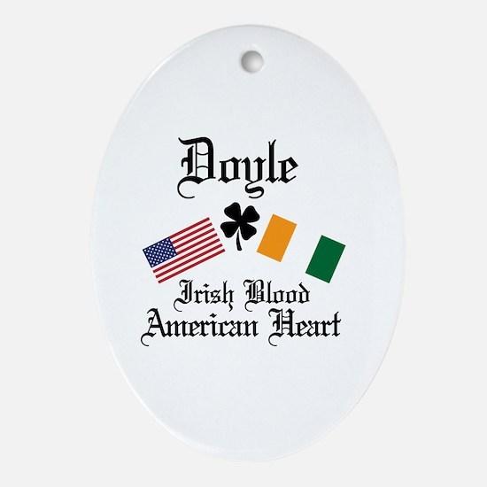 Unique Doyle irish Oval Ornament