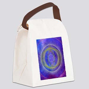 Three Golden Rings Canvas Lunch Bag