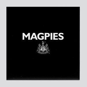 Magpies NUFC- Full Bleed Tile Coaster