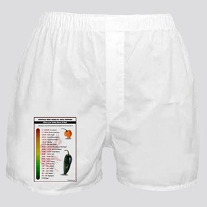 Scoville Scale 2015 Boxer Shorts