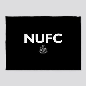 Newcastle United FC- Full Bleed 5'x7'Area Rug
