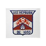 USS HEPBURN Throw Blanket