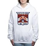 USS HEPBURN Women's Hooded Sweatshirt