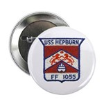 "USS HEPBURN 2.25"" Button"