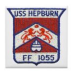 USS HEPBURN Tile Coaster