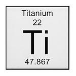22. Titanium Tile Coaster