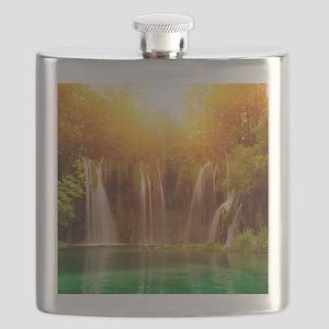 Beautiful Waterfalls Flask
