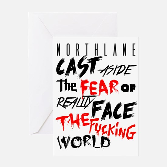 Northlane - Cast aside Greeting Card